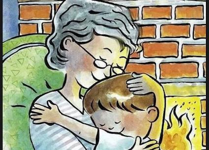 Tenere in braccio il nipote