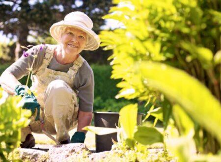Il giardinaggio un toccasana nella terza età